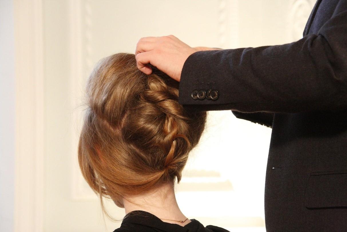 penteados de cabelos medios presos