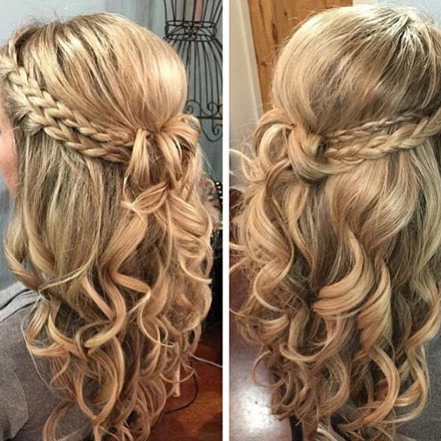 penteados com trança passo a passo