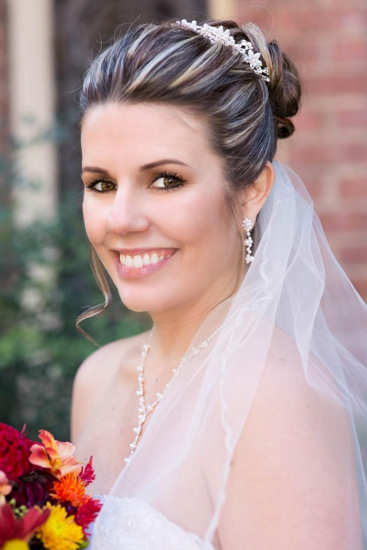 penteados para casamento simples