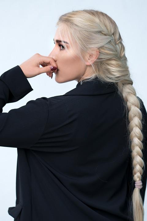 penteados com a trança