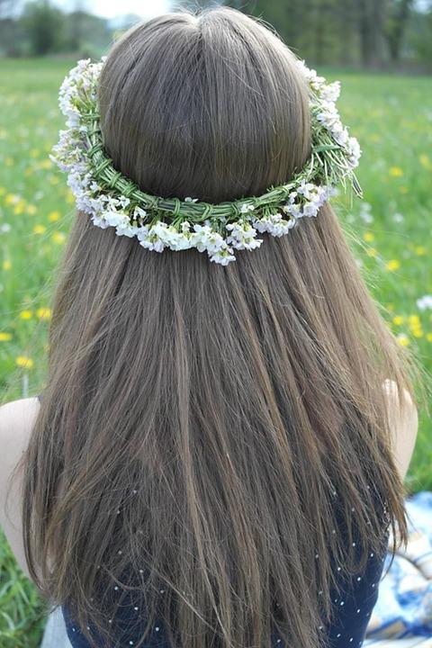 penteados para cabelos lisos e longos