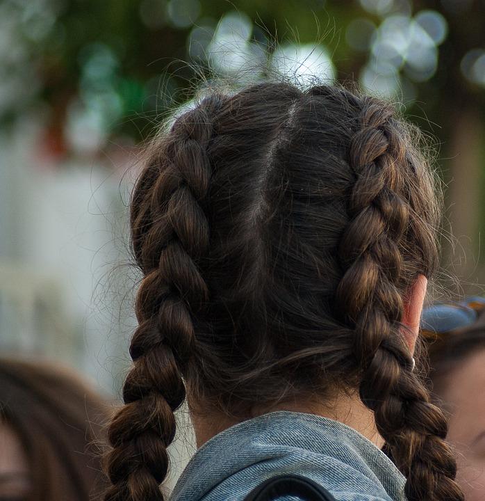 penteado cabelo bem liso