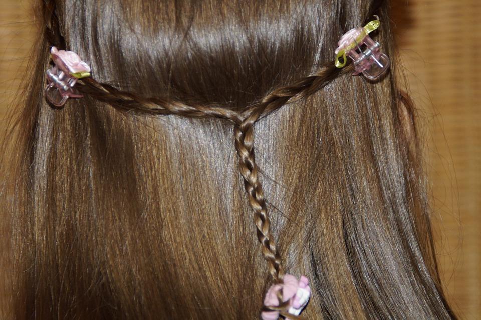 penteado semi preso cabelo medio