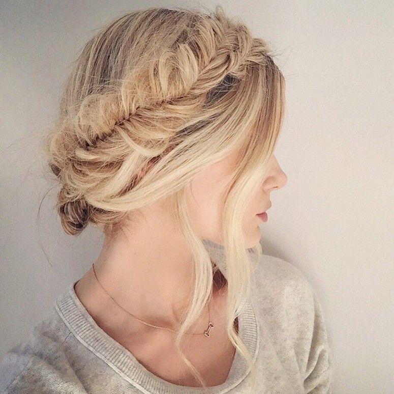 Penteados para cabelos loiros e acobreados