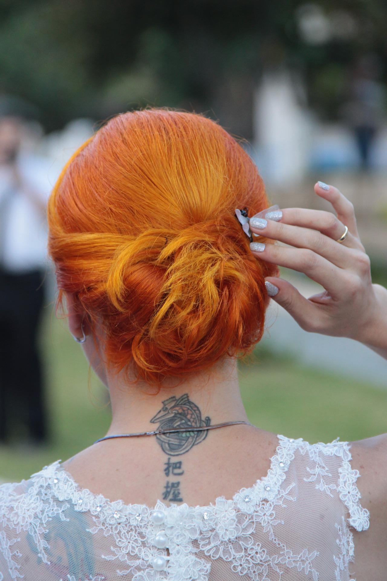 penteados para formatura coque