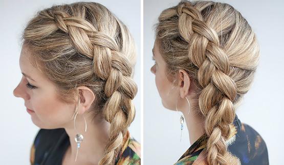 penteados de um lado