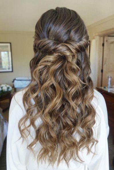 penteados para festas soltos