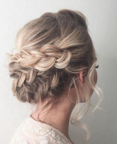 penteados para festas tranças