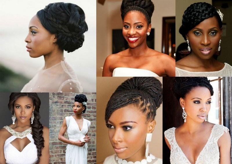 penteados para noivas afros